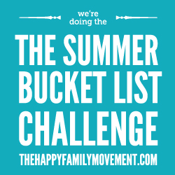 Summer Bucket List Challenge